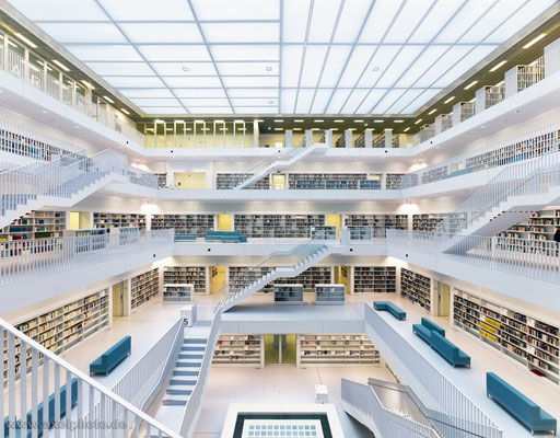 Neue Stadtbibliothek Stuttgart - EUN YOUNG YI