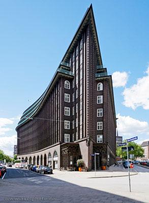 Chilehaus, Architekturbüro Fritz Höger