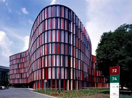 Oval Offices Cologne - sauerbruch hutton