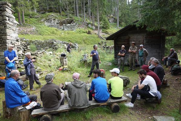 FBG Exkursion in Ursera Foto: Bruno Riedhauser