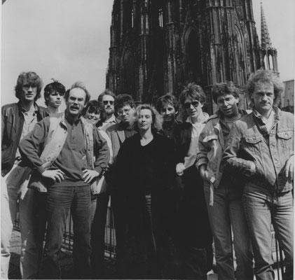 1984 – das damalige WDR 1-Team