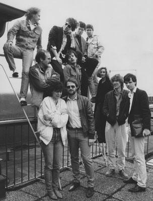 1984 – das damalige WDR 1-Team / 2