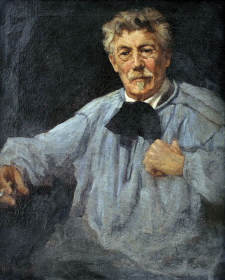 Ruth Simpson  'Portrait of Frank Ver Beck'  (Royal Cornwall Museum, Truro)