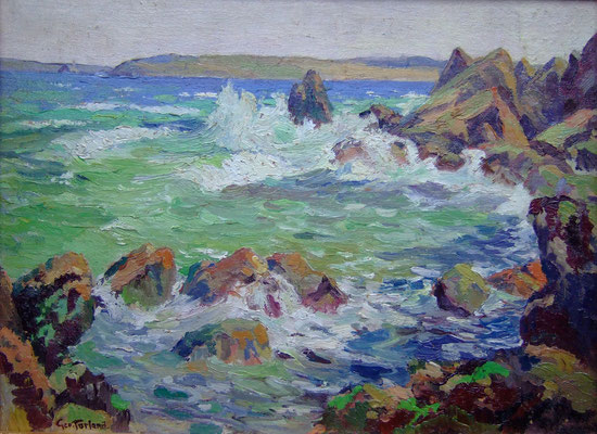 George Turland Goosey  'St Ives Bay'