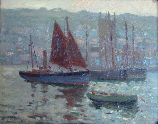 Charles Bryant  'The Harbour, St Ives'