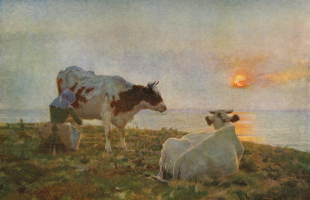 Adrian Stokes  'The Setting Sun' (Harris Museum, Preston)