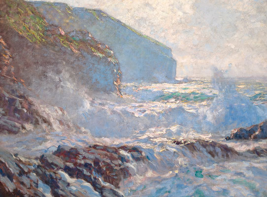 Paul Dougherty  'Sunlight and Surf' (1911)
