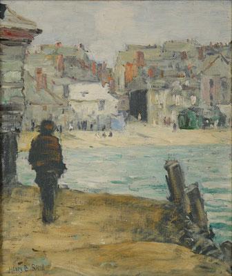Henry Snell  'Harbourside, St Ives'