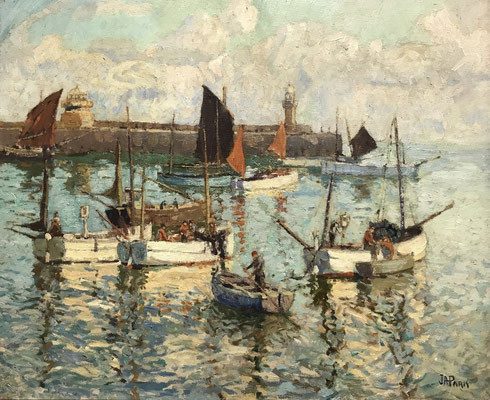 John Park  'The Harbour, St Ives'