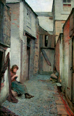 William Eadie 'Flamanck's Court', St Ives