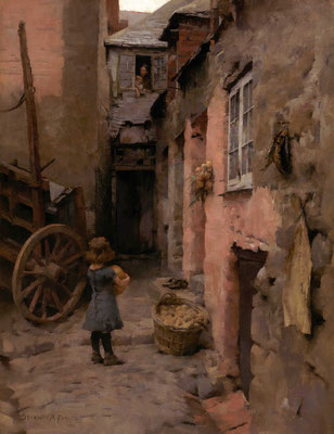 Stanhope Forbes 'Their Daily Bread'