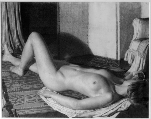 Raymond Ray-Jones  'Nude - The artist's wife, Effie'  (Issue 12)