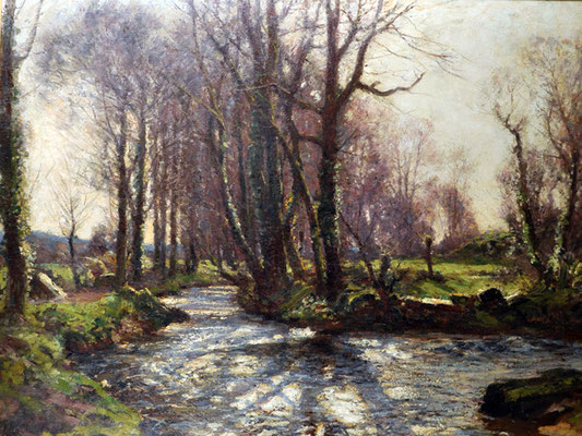 John Noble Barlow  'The Stream, Lamorna' (RA 1914)  (Issue 14)