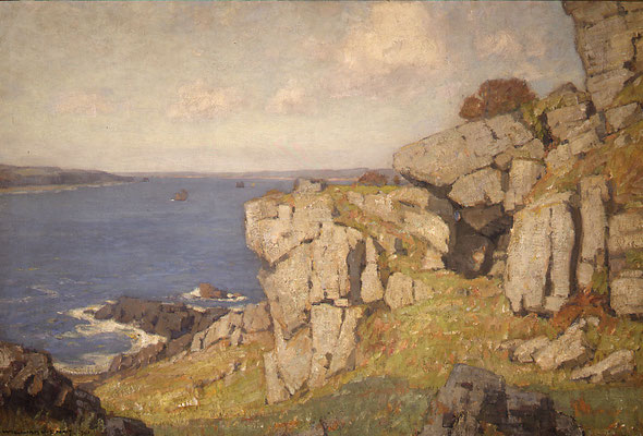 William Wendt  'Rocky Headland, Cornwall'