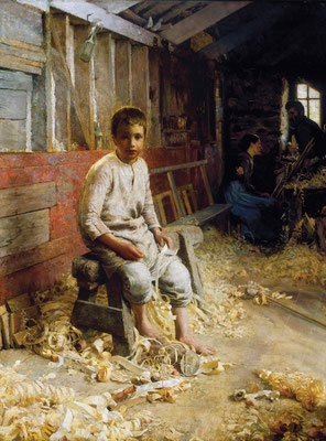Edward Simmons  'The Carpenter's Son'  (New Bedford, Massachusetts)
