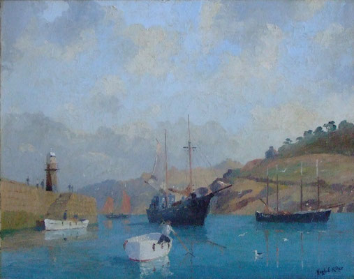 Hugh Ridge  'St Ives Harbour'