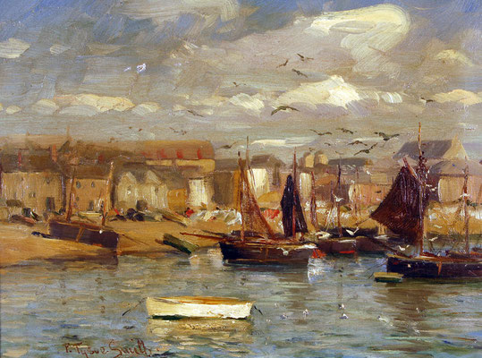Frances Tysoe Smith  'St Ives Harbour'  (1917)  (Issue 11)