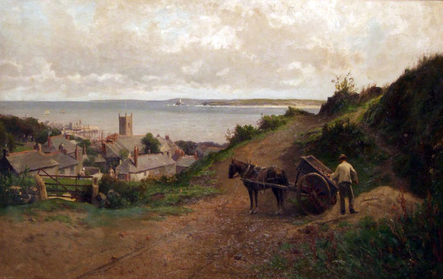 Thomas Hume  'St Ives Bay' (possibly RA 1888)
