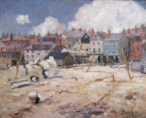 Dixie Selden  'A Windy Day, St Ives'