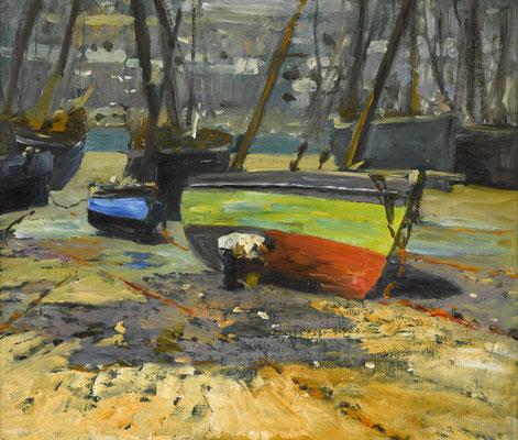 Henry Snell  'Low Tide, St Ives'