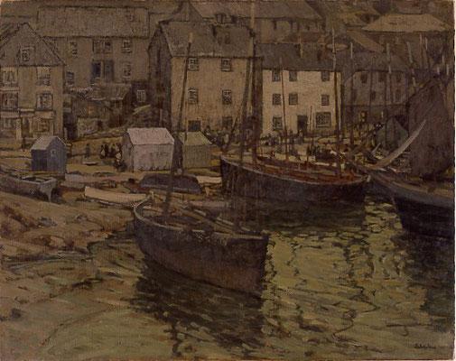 Elmer Schofield  'Evening Alongshore, St Ives' (National Academy of Design, New York - 1907)