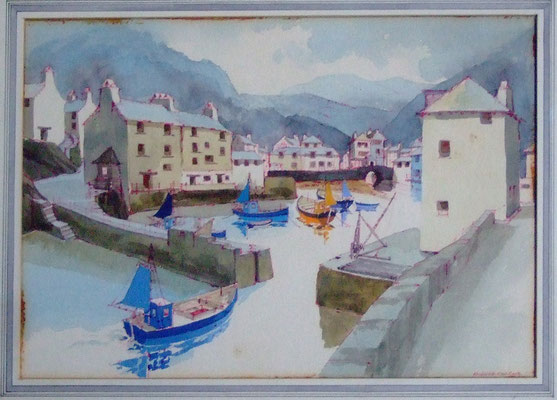 Frederick Cook  'Entering Harbour, Polperro'