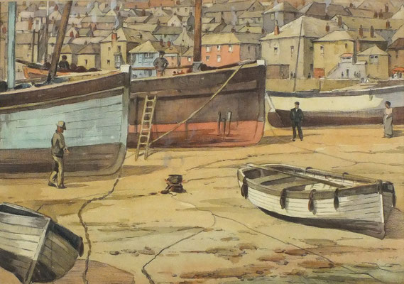 Lewis Mortimer  'Low Tide, St Ives'