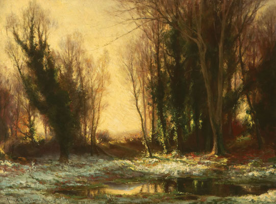 Anna Althea Hills  'Frosty Morning, Lamorna'  (1911)  (Issue 11)