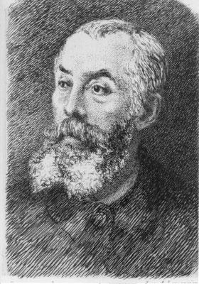 Emile Vernier by Felix Braquemond