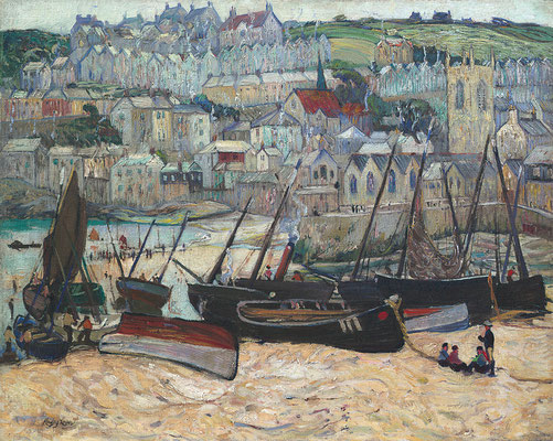 Richard Hayley Lever  'The Port of St Ives'