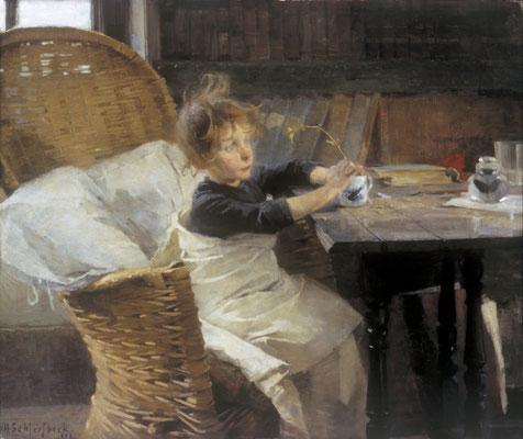 Helene Schjerfbeck  'The Convalescent' (Athenaeum, Helsinki)
