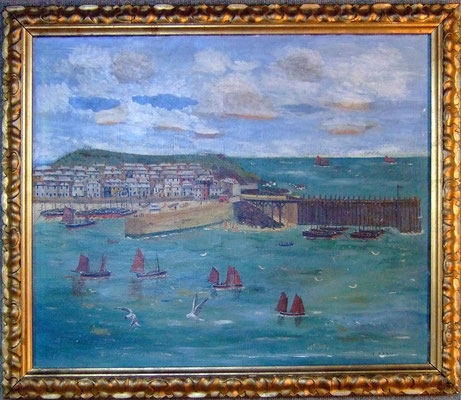 Edward T Daniell  'The Wooden Pier, St Ives'