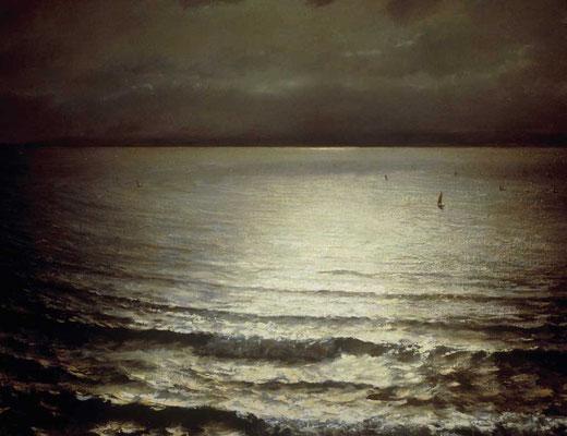 Edward Simmons  'Night, St Ives Bay' (Paris 1889, medal)