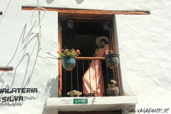 GASSE LA RONDA , EINST ROTLICHTVIERTEL, HEUTE EINE DER SCHÖNSTEN GASSEN IN QUITO