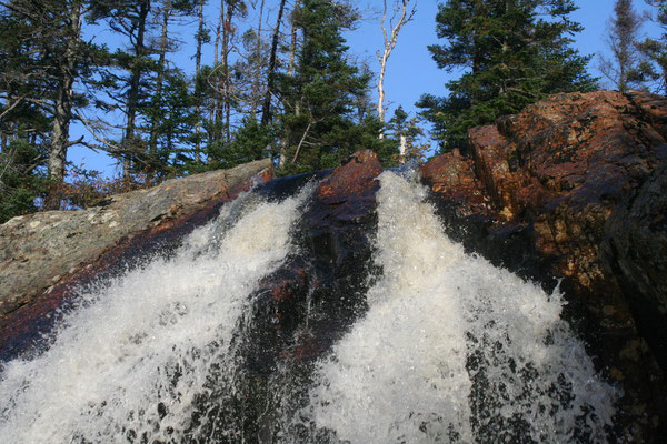 40 METER HOHE *SOUTHEAST BROOK FALLS*