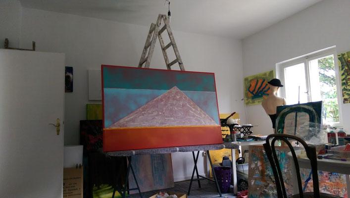 Atelier ALIV im Seitenflügel Kunsthaus Mülheim Stadtmitte