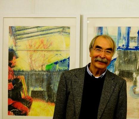 Reinhard Fingerhut stellt ab 10. November 2019 16 Uhr (Eröffnung) bis 7. Dezember 2019 in der Galerie an der Ruhr aus (im Rahmen der 6- Mülheimer Kunsttage 2019)