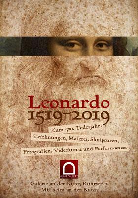 """Jahresmotto in der Kunststadt MLHMRHR """"Das Leonardo da Vinci-Jahr 2019"""""""