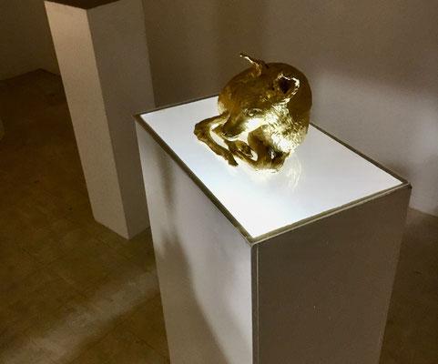 Vergoldete Natur von Hamid Ghaffari (AtelierHaus 26)