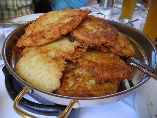 Das Kartoffel-Goldknusperstückchen - ein Hoch auf den, der´s erfunden hat!