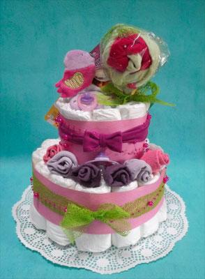 gâteau de couches petit oiseau