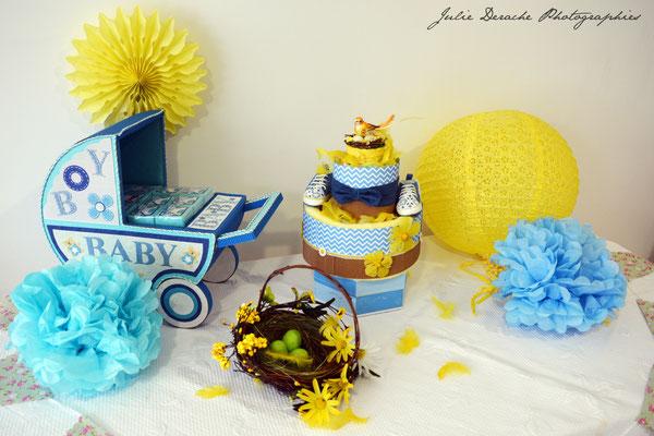 Créatrice de gâteaux de couches
