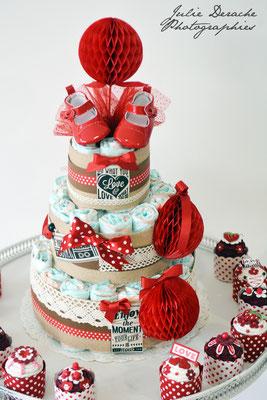 Gâteau de couches vintage