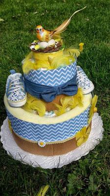 gâteau de couches pâques