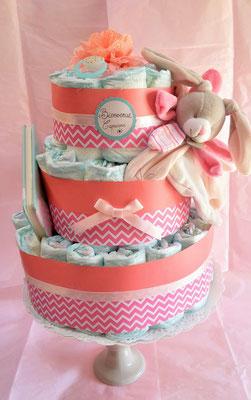 Gâteau de couches chevron