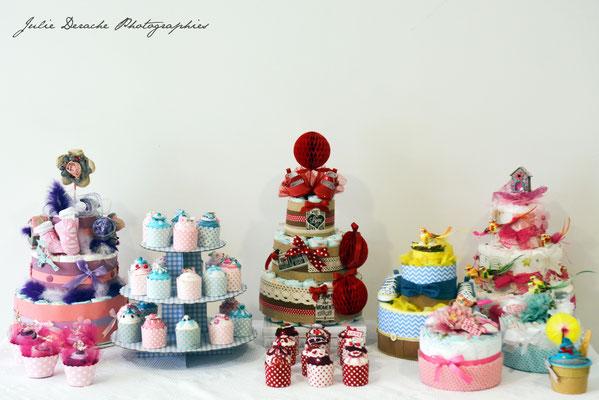 Hélène Houlès créatrice de gâteaux de couches des cadeaux de naissance sur-mesure et originaux