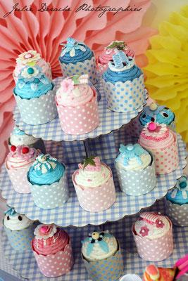 Boîtes à dragées cupcakes