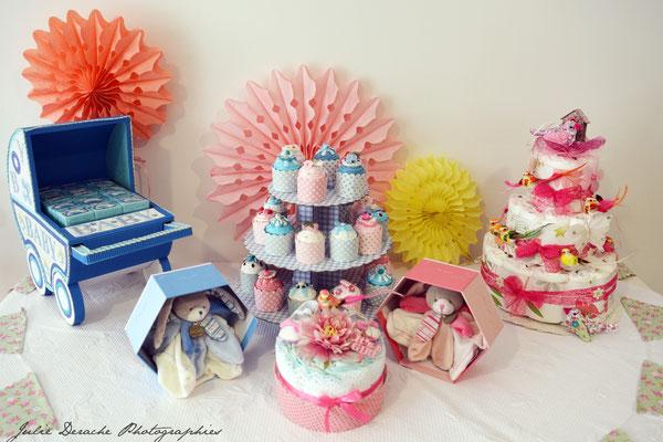 Gâteaux de couches