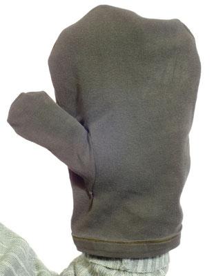 Probehandschuh als Vorarbeit zur Rekonstruktion des Handschuhs aus Ralswiek