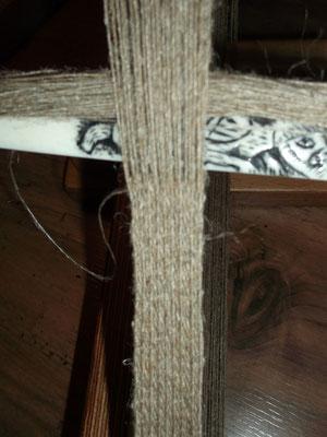 das brettchengewebt Band im Detail